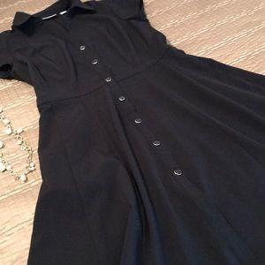 New York & Co. dress, black shirtwaist, size S